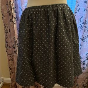 Loft flannel skirt